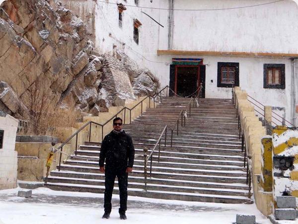 Kee Monastery in Winters