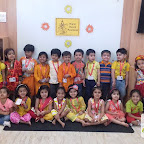Basant Panchami Celebrated by Nursery Afternoon Section at Witty World, Chikoowadi (2017-18)