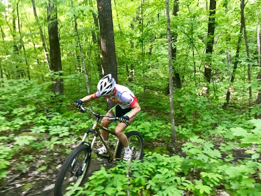 Afternoon ride on Twin Lakes singletrack