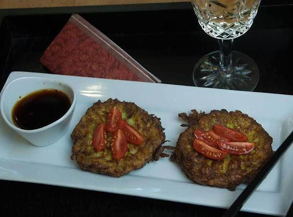 Zippy Zucchini Fritters Recipe