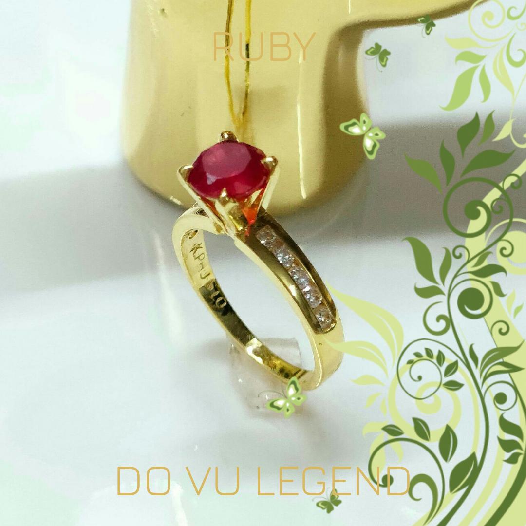 Nhẫn Ruby nữ