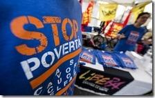 Al Sud 1 su 2 a rischio povertà