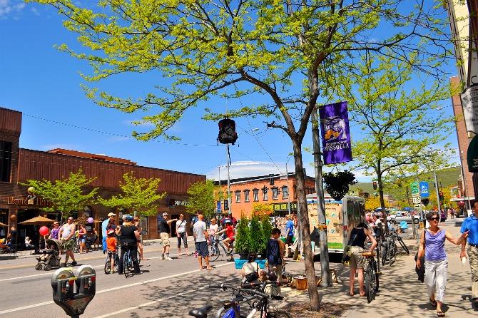 Sunday Streets Missoula - Downtown Missoula, MT.  Photo by Carol Blodgett