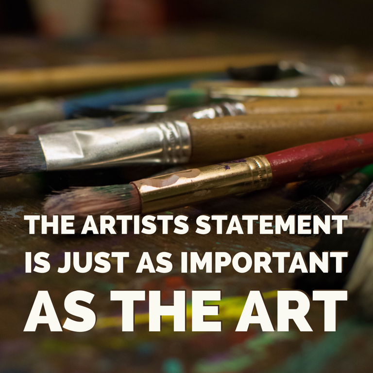 artist Statement art descriptions