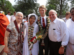 Photo: David has served as a missionary in Orissa state of India the past three years and when ever MTM was conducting a conference in the region David would come to the conference. So David has become like a spiritual son to me. I have also know Suzane as well as her family for a number of years.