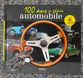 livre 100 ans de génie automobile