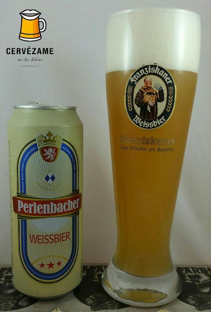 CERVEZA BEER Perlenbacher Weissbier CERVEZAME