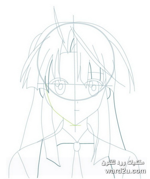 تعليم رسم الانمى Anime Drawing