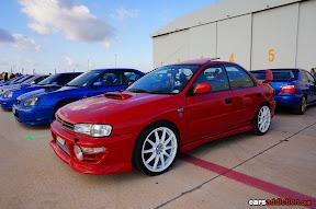 Red Impreza Classic