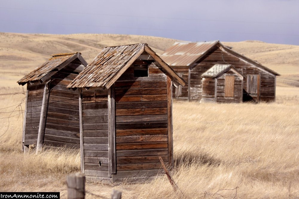 Dust Bowl Ghost Town