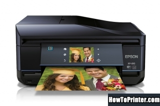 Resetting Epson XP-810 printer Waste Ink Pads Counter