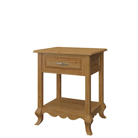 Matching Furniture Piece: Orleans Nightstand with Shelf, Classical Maple