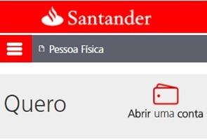 abrir-conta-no-santander-online