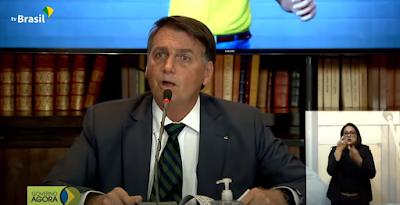 Rejeição  de  Bolsonaro vai a 62%
