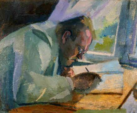 Max Reger por Franz Nölken, 1913