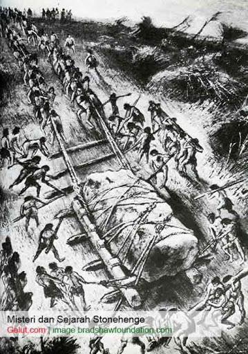 pemindahan batu stonehenge