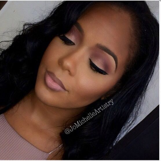 NATURAL WEDDING MAKEUP IDEAS FOR BLACK WOMEN 1