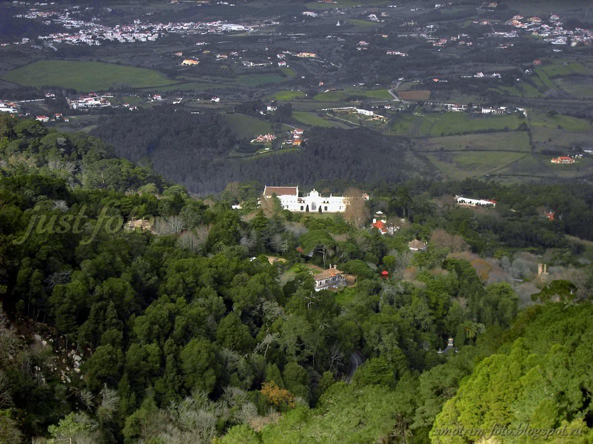 Фото с высоты Pena Palace