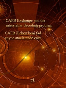 CAFB Exchange and the interstellar decoding problem Cover