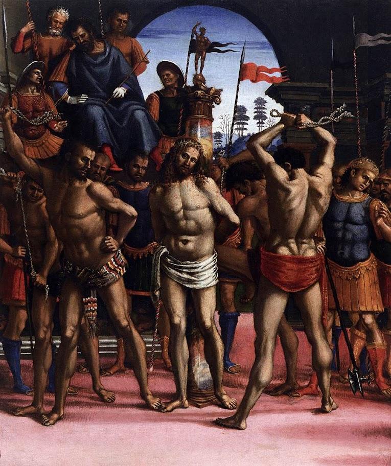 Luca Signorelli - Flagellation, circa 1505