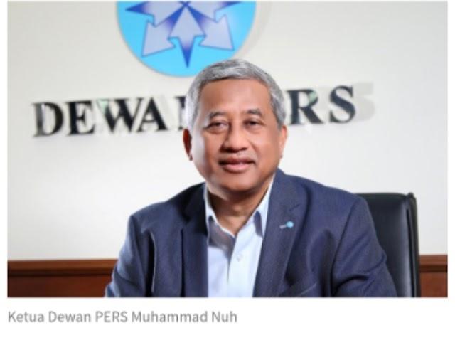 Dewan Pers Berharap Uji Materi UU Pers No 40 Tahun 99 Ditolak