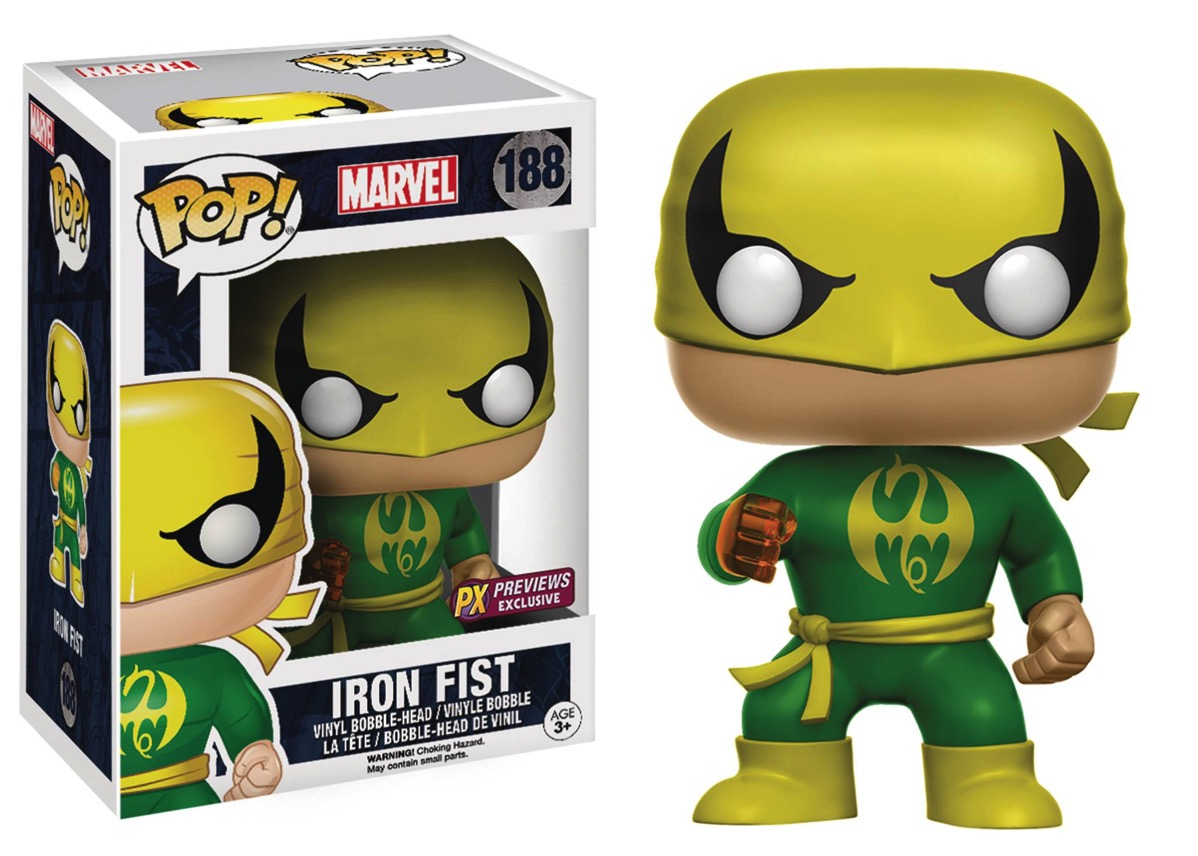 Iron Fist Pop