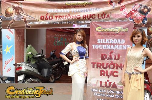 Con Đường Tơ Lụa khởi động Silkroad Tournament 10