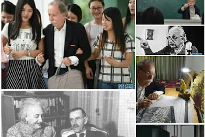 Albert Einstein ada di China