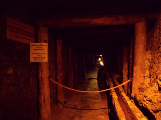 Galerias en las minas de sal de Wieliczka
