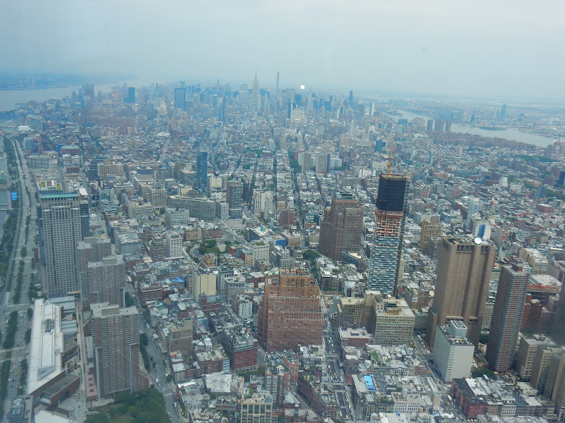 Freedom Tower, Observatorio, Observatory, One World Trade Center, World Trade Center, WTC, Twin Towers, Torres Gemelas, Memorial 9/11, Panorama, Paisaje, Brooklyn, New Jersey, Chrysler, Empire State, New York, Nueva York, Manhattan