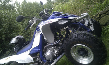 Quad bike stolen from Chapel Lane, Galgate