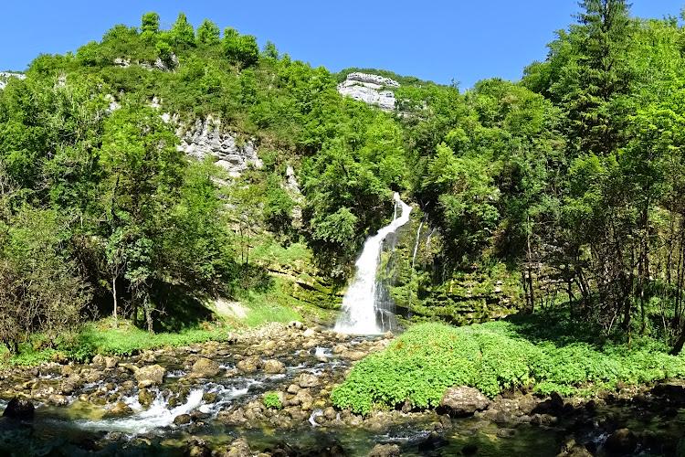 Le Jura à pied - Le Tour des Gorges du Flumen