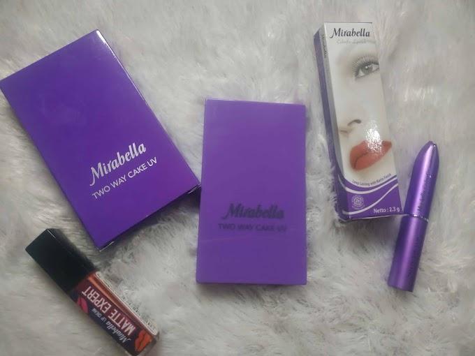 Review Mirabella Cosmetics Bedak dan Lipstik untuk Make Up Sehari-hari