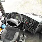 Het dashboard van de Vanhool van Heuvelmans Taxi & Groepsvervoer (B)