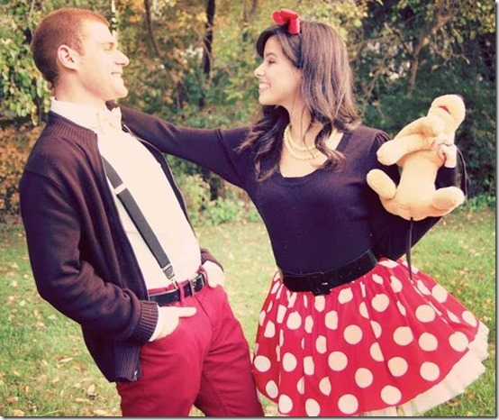 disfraz de mickey y minnie mouse (1)