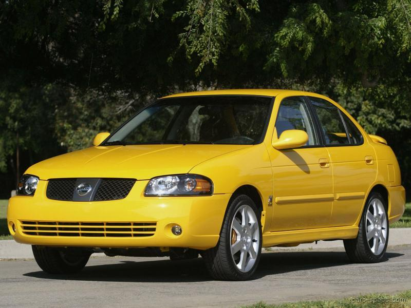 2002 nissan sentra se r spec v specifications pictures. Black Bedroom Furniture Sets. Home Design Ideas