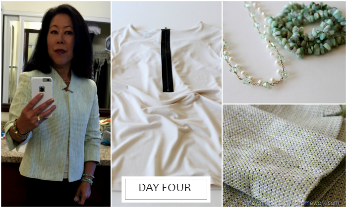 What I Wore Business Travel Day Four