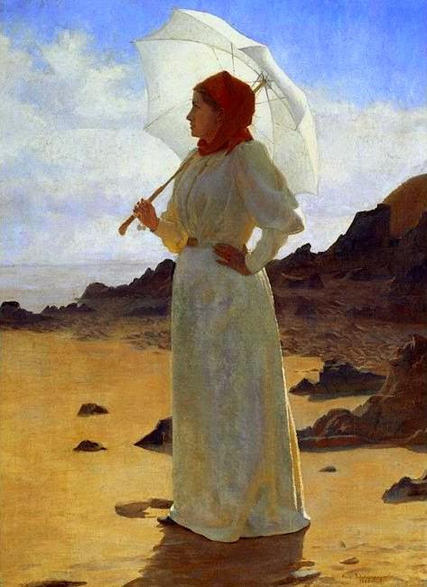 René Schützenberger - La Femme en blanc