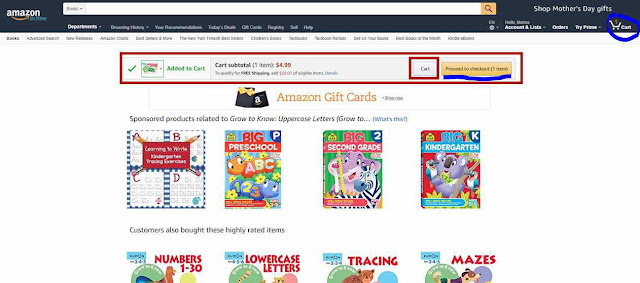 *Как сделать заказ на сайте Amazon.com 5