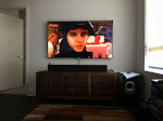 Voila!  Moonrise Kingdom was our first HD experience with the TV on the wall