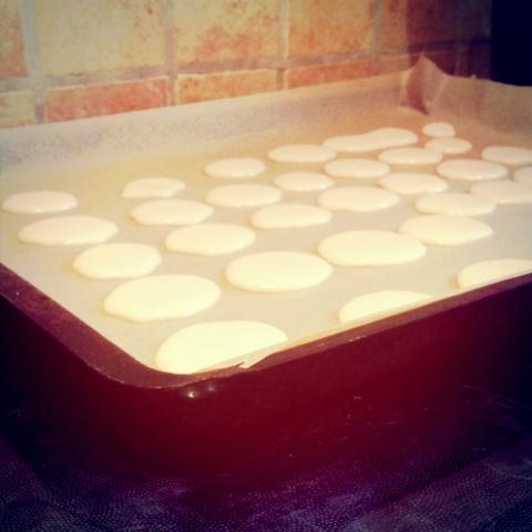 Macarons vorher