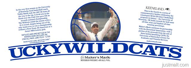 Maker's Mark - UckyWildCats