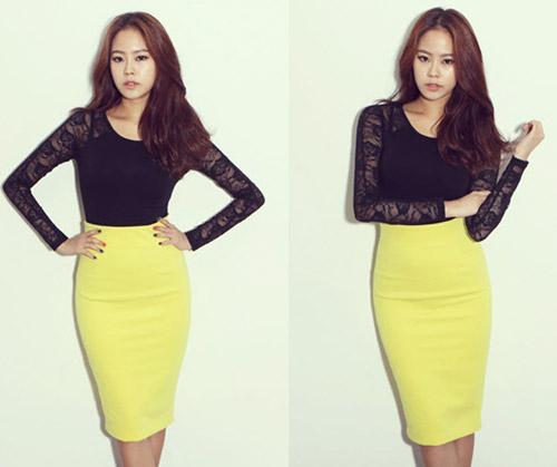 Chon chan vay dep diu dang cho nang cong so 6