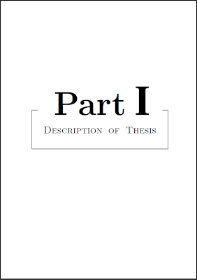 Phd thesis latex package