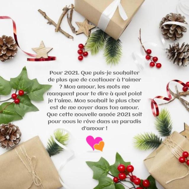 Vœux en Mots d'Amour pour Bonne Année