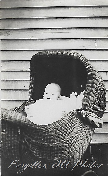 Baby in a stroller DL anat