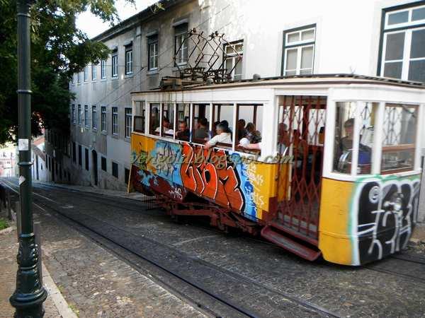 Лиссабон подъемник да Глория