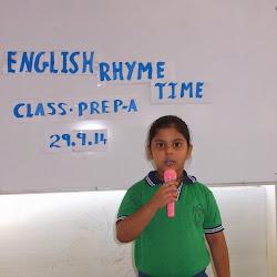 2014-09-15 ENGLISH RHYME TIME SHOW CLASS PRE-NURSERY AND PREP-A