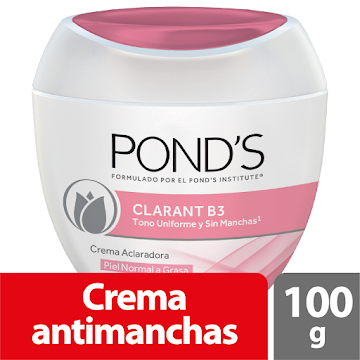 Crema PONDS Clarant B3   Aclaradora Filtro UV 8 Semanas x100g