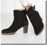 Gabor platform ankle boot